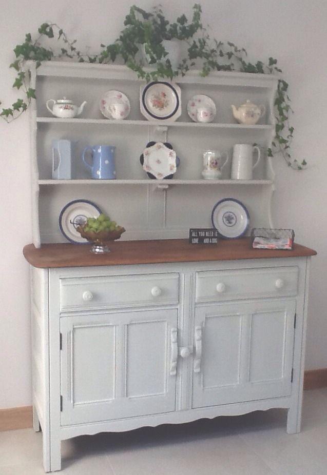 Vintage Ercol Shabby Chic Dresser Painted Autentico