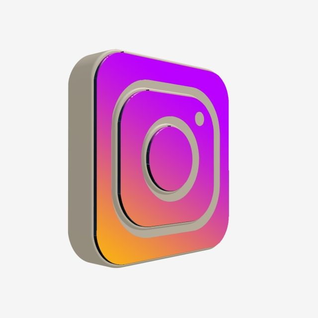 3d Instagram Icon 3d Instagram Icon Png Transparent Clipart Image And Psd File For Free Download In 2020 Instagram Icons Instagram Logo Social Media Icons Free