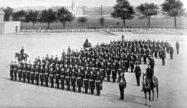 1RWF at Raglan Barracks Devonport 1900 just prior to deploying to South Africa.