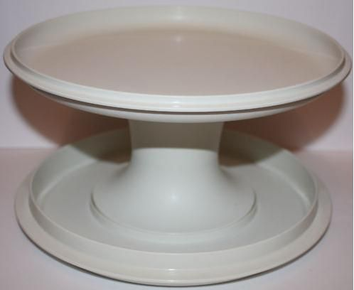 Vintage Cake Stands Vintage Tupperware Cake Stand Two