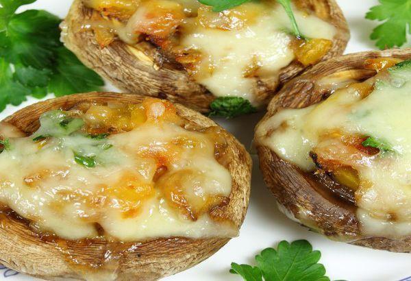 Crab Stuffed Mushrooms Cap Recipe