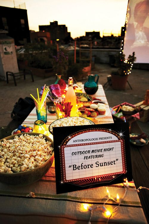 Now Thats Entertaining Outdoor Movie Night