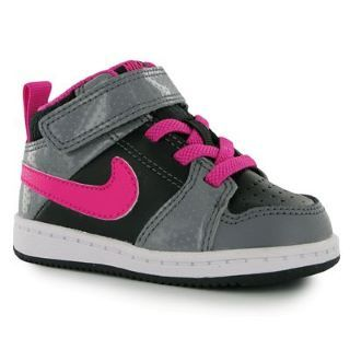 Bought these little beauties for my little girl! Nike backboard 2 infant hi  top trainers