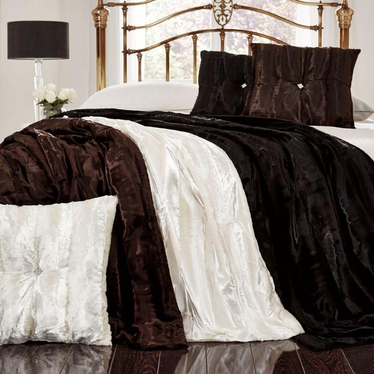 Jeté de lit et coussin Kylie Prado