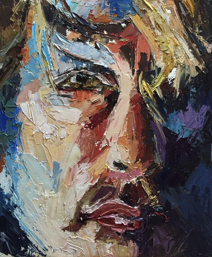 Nigel, oil on canvas.