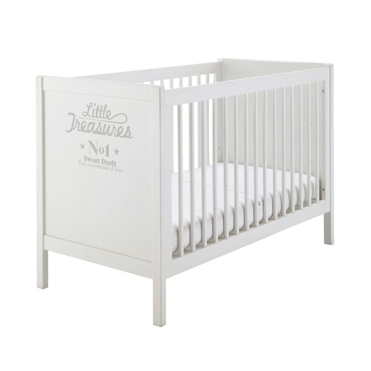 Awesome Wooden Cot In White Songe Maisons Du Monde With Cot Maison
