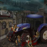 Zombie Tractor,malogames.com,free online games