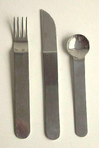 Sergio Asti, Cutlery For ICM, 1960s.