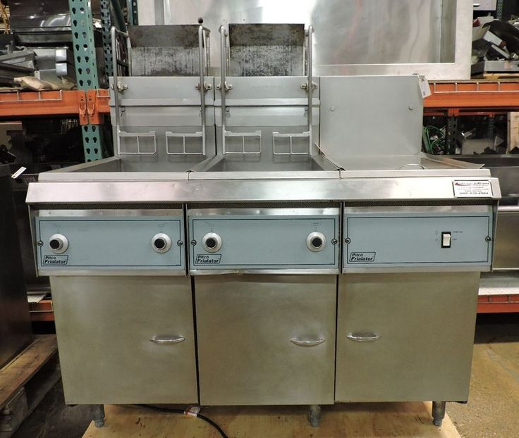 Pitco Frialator Double Gas Fryer W/ Dump Station, Auto Lift & Filtration System