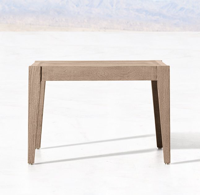 Mustique Teak Side Table
