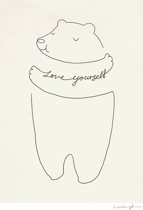 """Cute way to draw a bear hug! You could say, """"thinking of you"""" or """"I love you"""", """"get well"""", etc."""