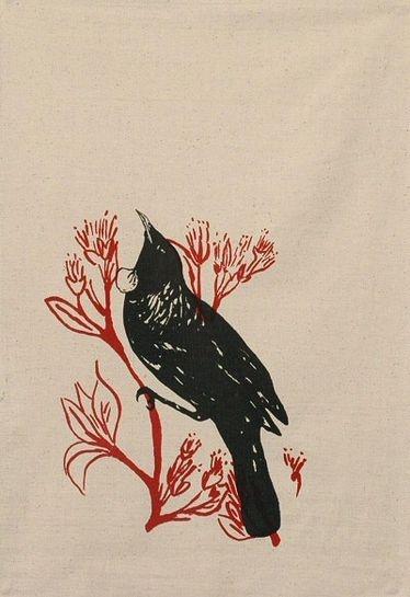 ingrid anderson tui tea towel