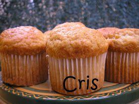 Las comiditas de Cris: Muffins de turrón