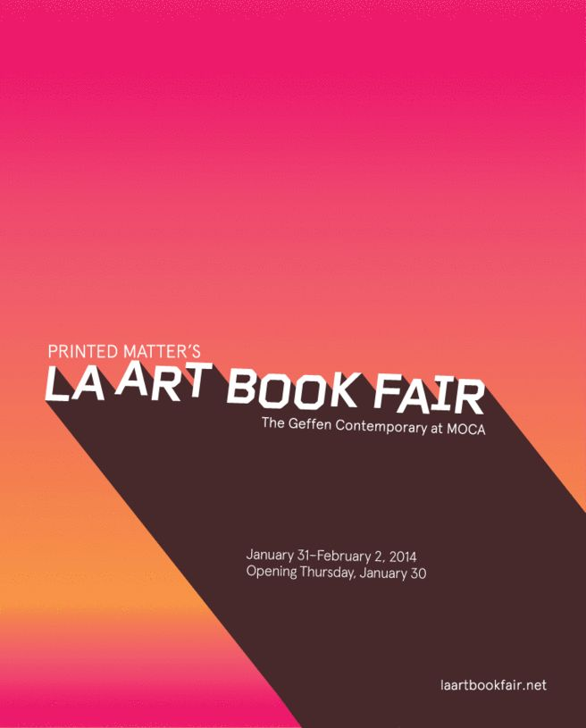 2014 LA Art Book Fair  Printed Matter, Inc.