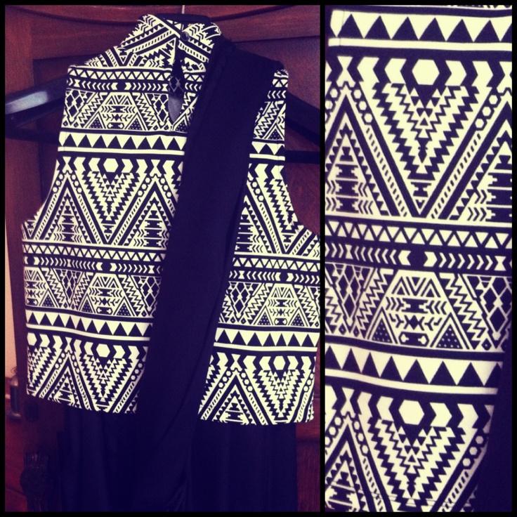Sari gown by Ayush Kejriwal Printed tribal blouse with a black satin silk sari