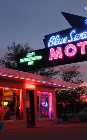 Blue Swallow Motel | Travel | Vacation Ideas | Road Trip | Places to Visit | Tucumcari | NM | Photo Op | Roadside Attraction | Motel