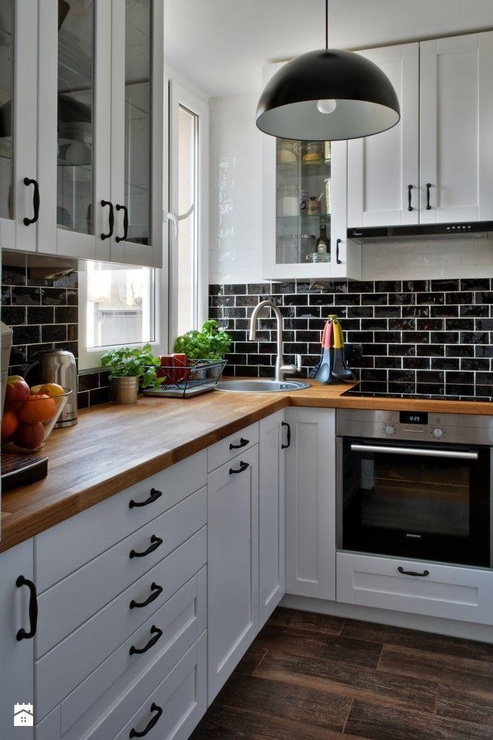 Küchendesign und Schränke