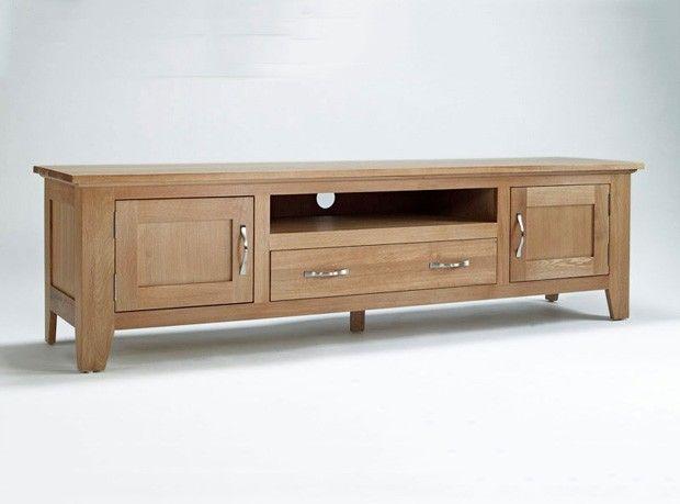 Bonsoni Sherborne Oak Large TV Unit