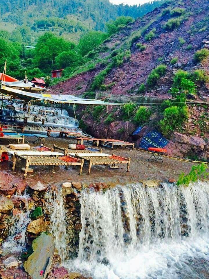 28 best panduan sholat images on pinterest allah and mosque a cafe between a small waterfall keshaar pakistan ccuart Choice Image