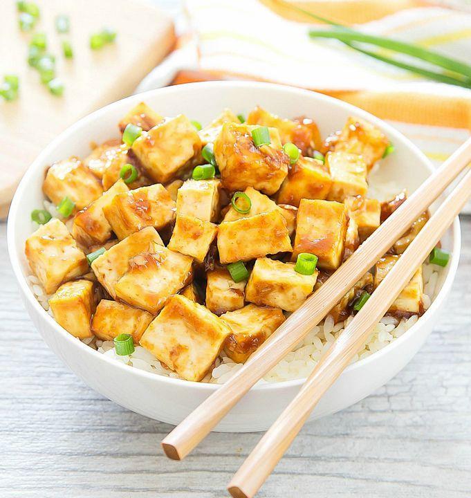 Crispy Baked Garlic Tofu   Kirbie's Cravings   A San Diego food & travel blog