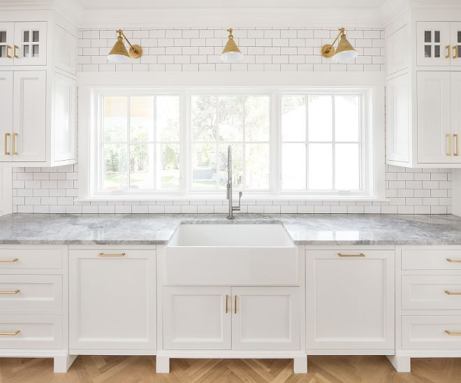 Modern Farmhouse Kitchen Subway Tile Modern Farmhouse