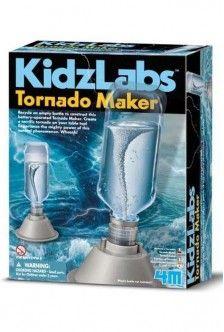 Kidzlabs Tornado Maker Kit   4M Science   085761209879