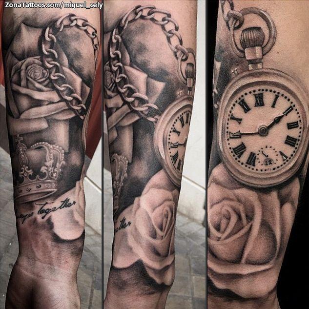 Tatuaje hecho por Miguel Cely, de Madrid (España). Si quieres ponerte en contacto con él para un tatuaje o ver más trabajos suyos visita su perfil: http://www.zonatattoos.com/miguel_cely Si quieres ver más tatuajes de relojes visita este otro enlace: http://www.zonatattoos.com/tag/350/tatuajes-de-relojes #Tatuajes #Tattoos #Ink #Relojes
