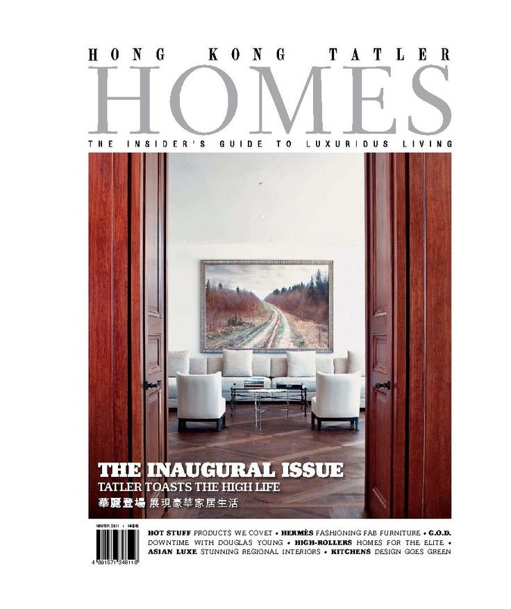 Hong Kong Tatler Homes Magazine