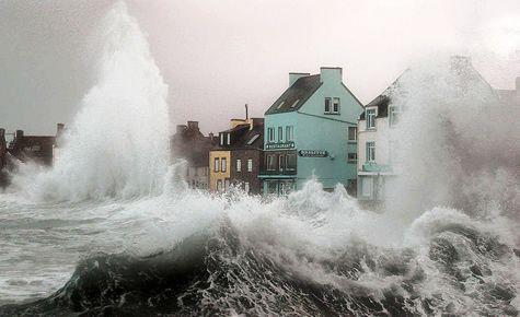 l'Ile de Sein dans le Finistère