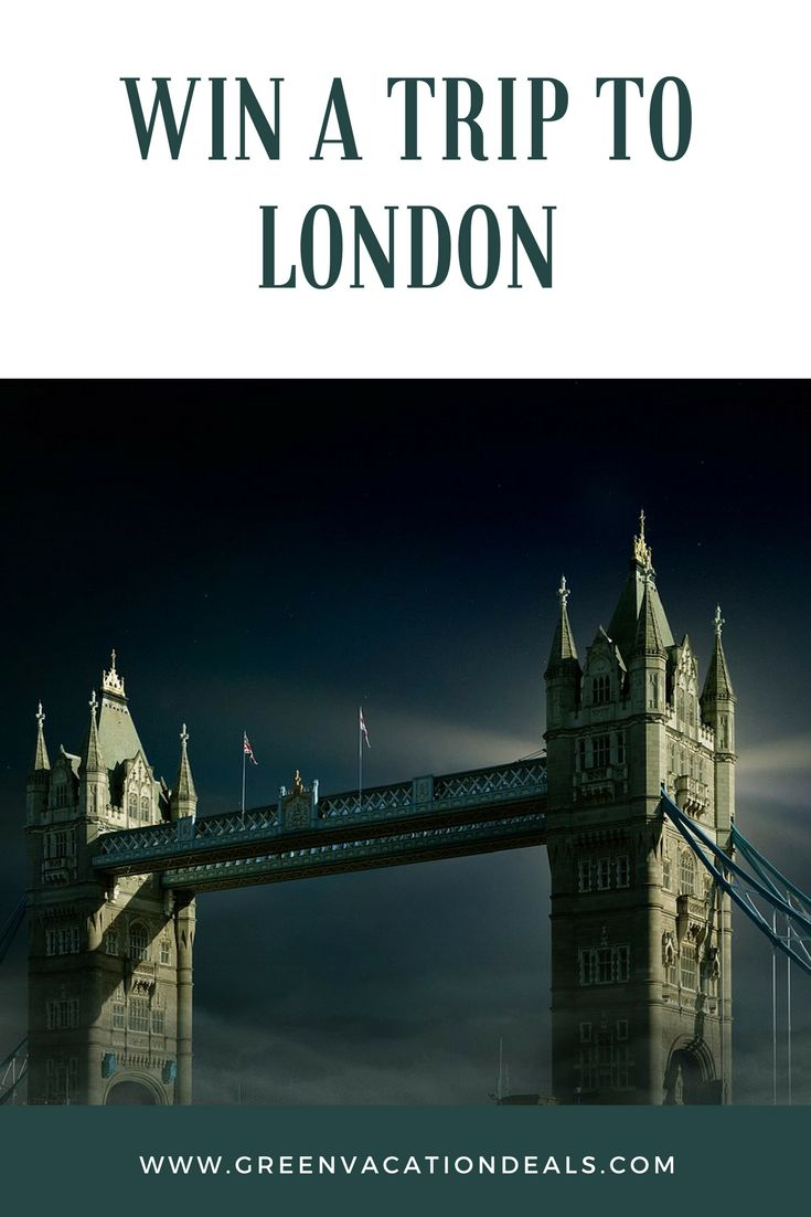 London Travel Sweepstakes - win roundtrip airfare to London, 3 night stay in a London hotel & a night in the London Dungeon. | London Travel Ideas | Things to Do in London | Budget Travel | Vacation Giveaway | England Travel