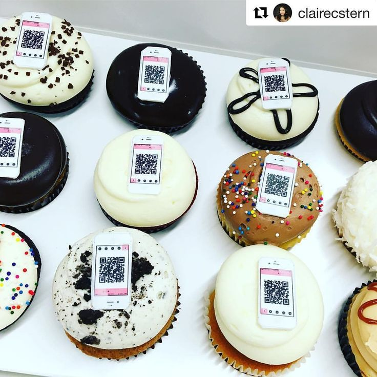 Cupcake on instagram repost clairecstern