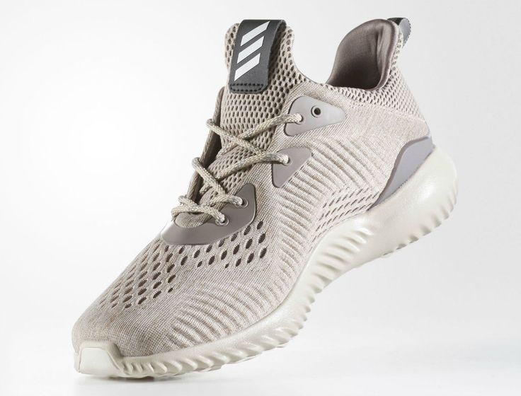 Adidas AlphaBounce EM Tech Earth Clear Brown Crystal White Medial