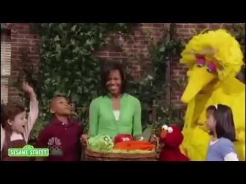 (Hysterical!) Big Bird Asks Michele to Show Obama's Kenya Birth Cerificate
