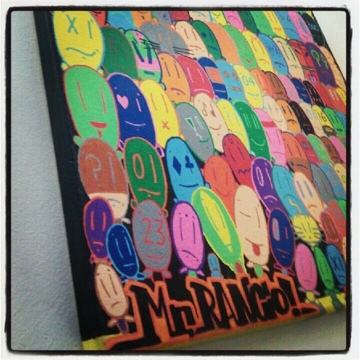 Mr.Rancio Faces #art #paintings #posca #watercolors #canvas