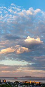 Last light over Thunder Bay. July 2, 2016 5120 Pano