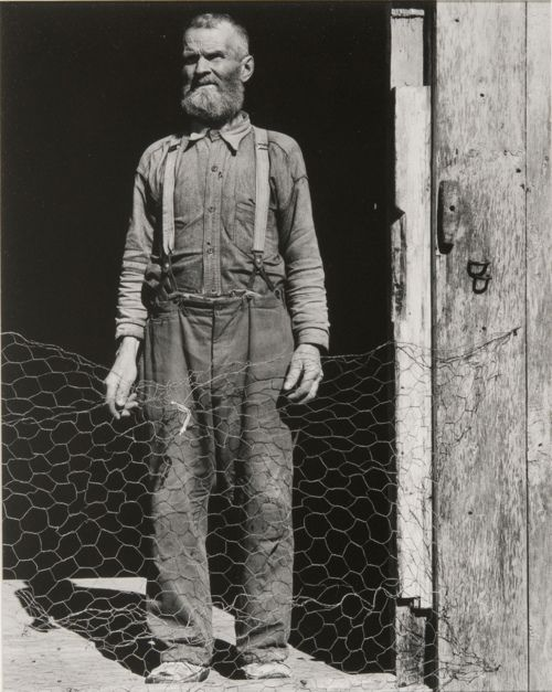Old fisherman, Gaspe, Quebec , 1936