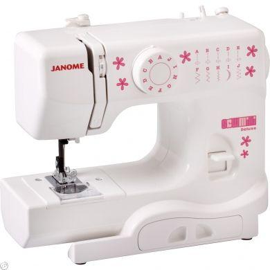 Nähmaschine Janome Sew Mini deLuxe DX (99 €) Super Kritik für Kinderhände!!