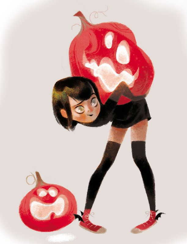 """My parents always said, """"You can take any pumpkin you can carry."""" This was me most of the time :)"""