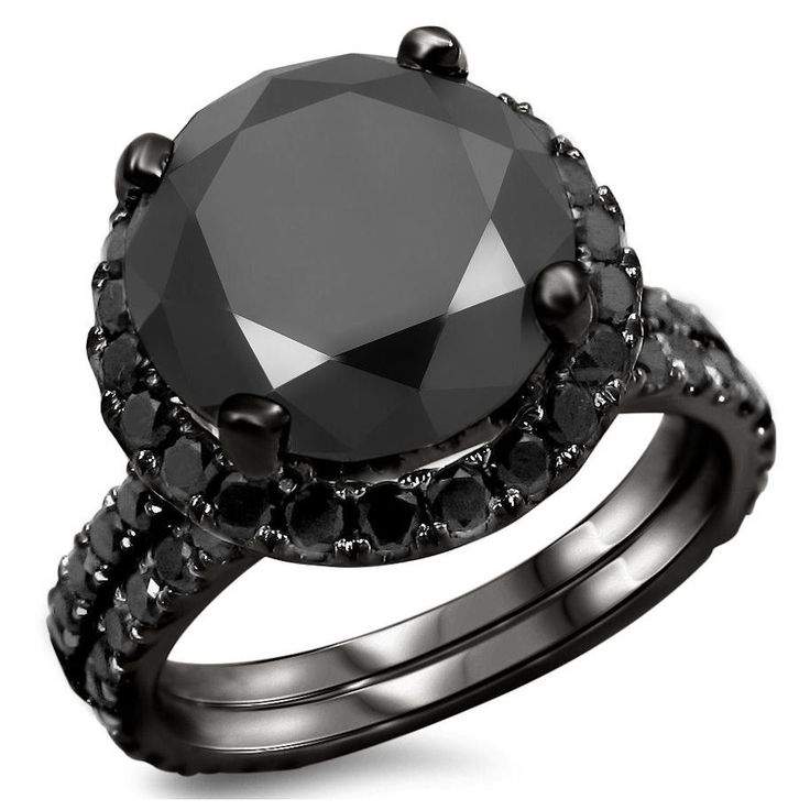 Black Diamond Wedding Rings: 17 Best Images About Jewelry On Pinterest