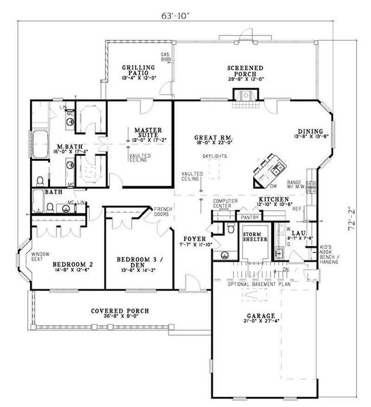 62 best house plans images on pinterest | home, dream house plans