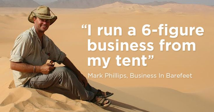 Digital nomad Mark Phillips runs a 6-figure business from a tent and has no fixed address. Come behind-the-scenes and discover why he's never been happier.