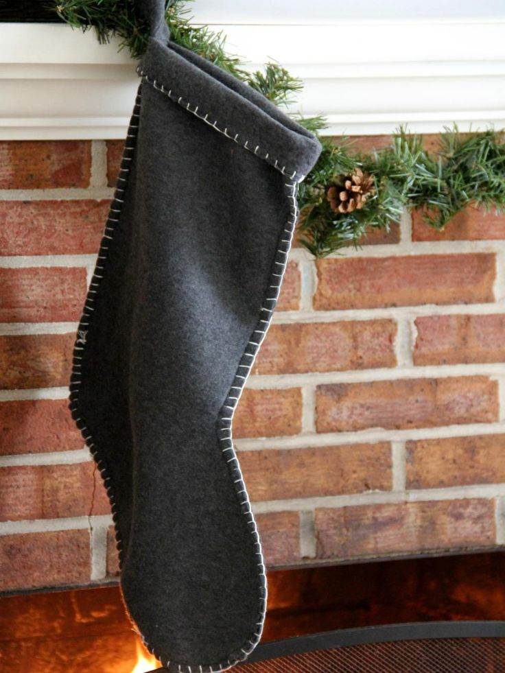 This is the perfect project for the beginner seamstress. With just a little bit of fleece and some embroidery thread, you can sew up a fleece stocking in no time.Get the instructions and pattern >>