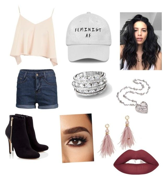 """""""Untitled #41"""" by jade2006 on Polyvore featuring Topshop, Lipsy and Lizzie Fortunato"""