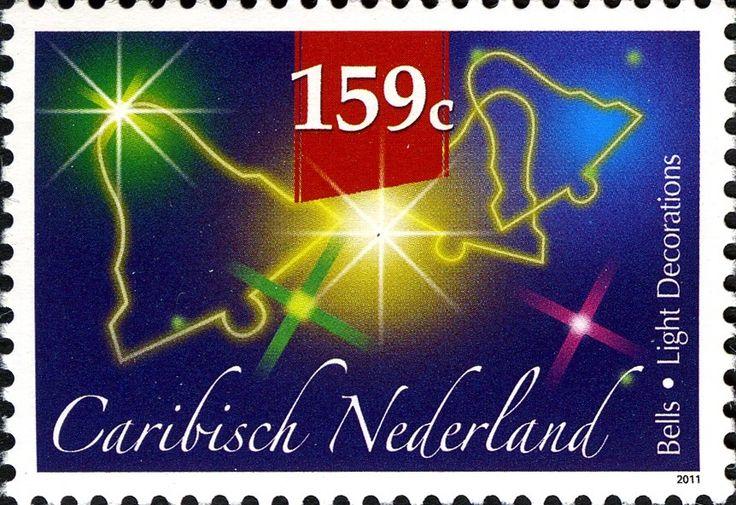 Stamp: Christmas Bells (Caribbean Netherlands) (December Stamps) Mi:BQ 22,Sn:BQ…