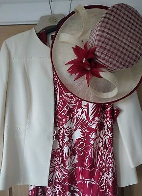 Jacques Vert Mother Of Bride/Wedding Outfit Size 20