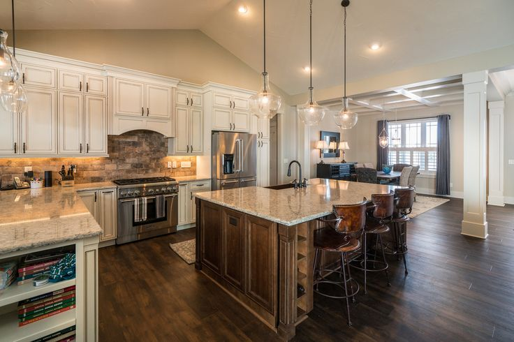 Dream Kitchen for Mom | Litchfield Tradition | by Wayne Homes
