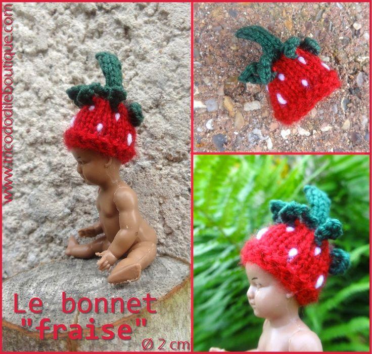 mini bonnet fraise