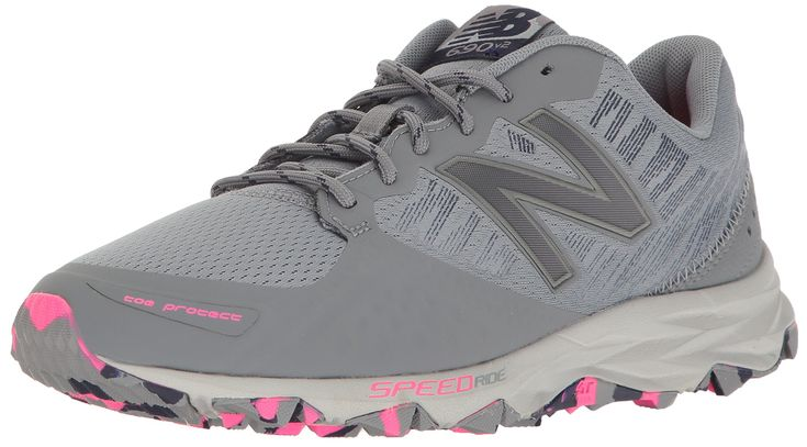 New Balance Women's Responsive 690v2 Running Shoe Trail Runner, Gunmetal/Dark Denim, 6 B US