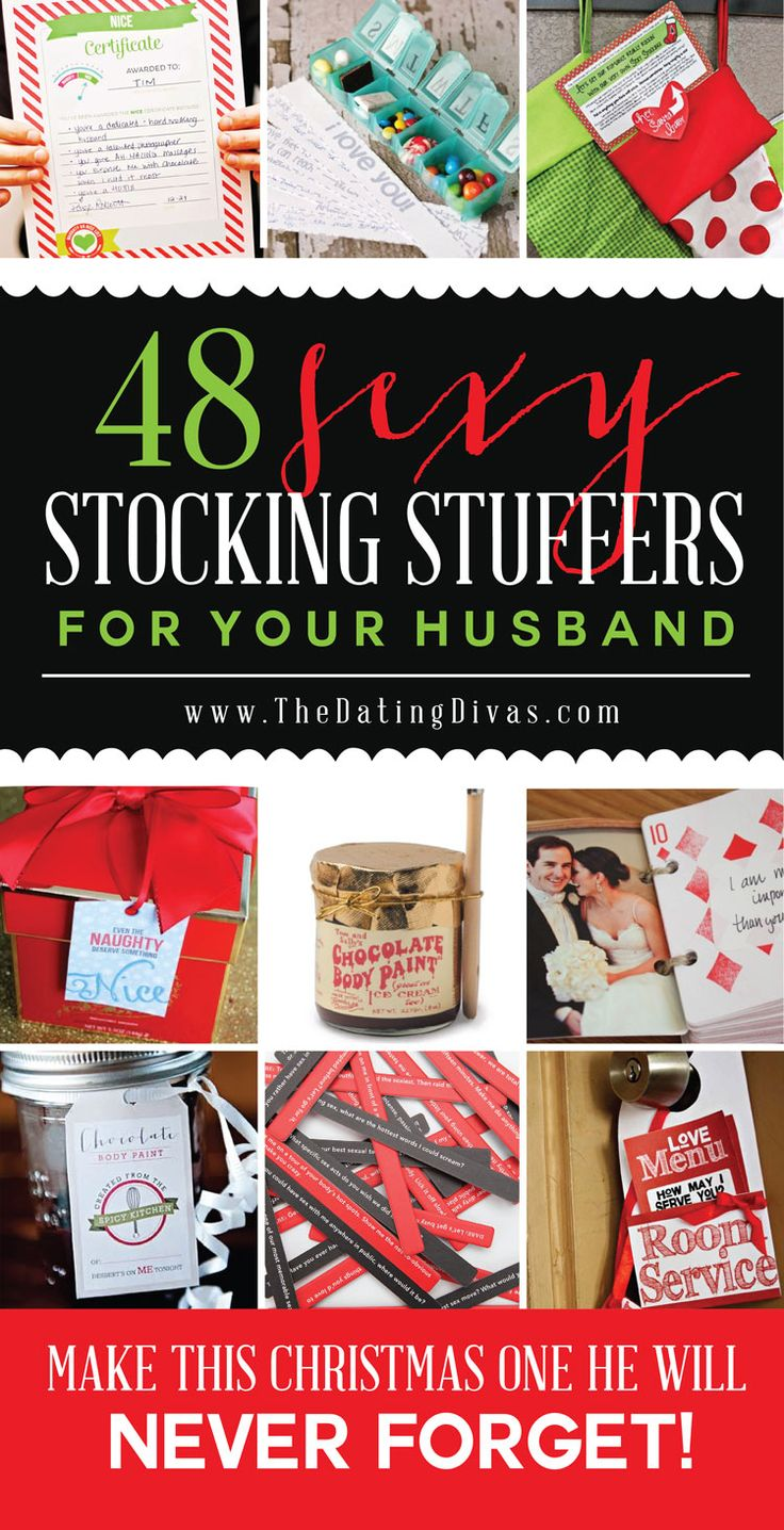 Sexy stocking stuffer ideas I KNOW my husband will LOVE!! Christmas... Check!! www.TheDatingDivas.com
