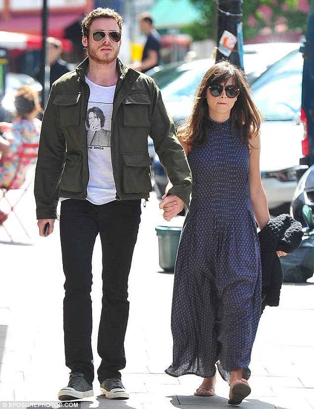 Richard Madden and Jenna Coleman. They are so cute!!
